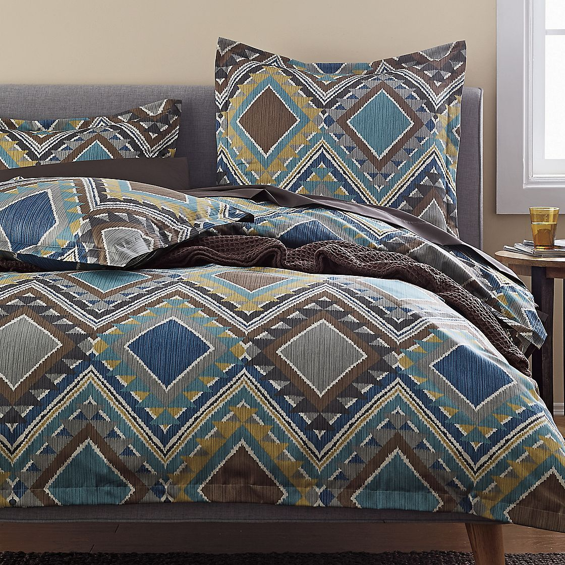 Java 300 Thread Count Wrinkle Free Duvet Cover | The Company Store