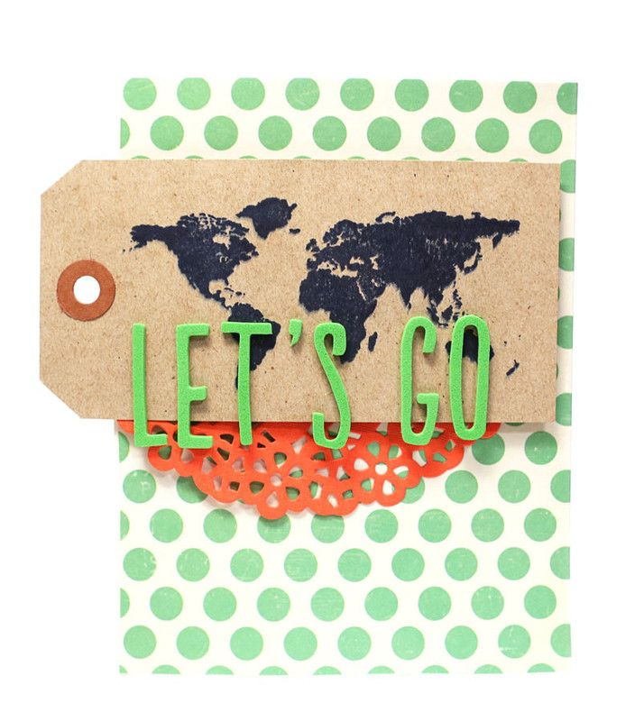 Let's Go card by CristinaC at @studio_calico