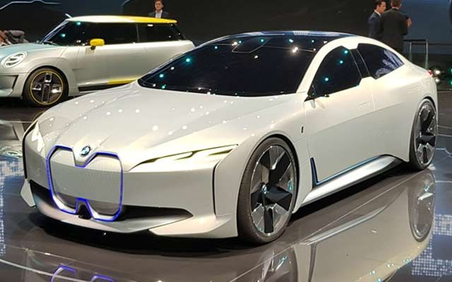 Bmw I4 Will Be Built In Munich Based On The Brand S