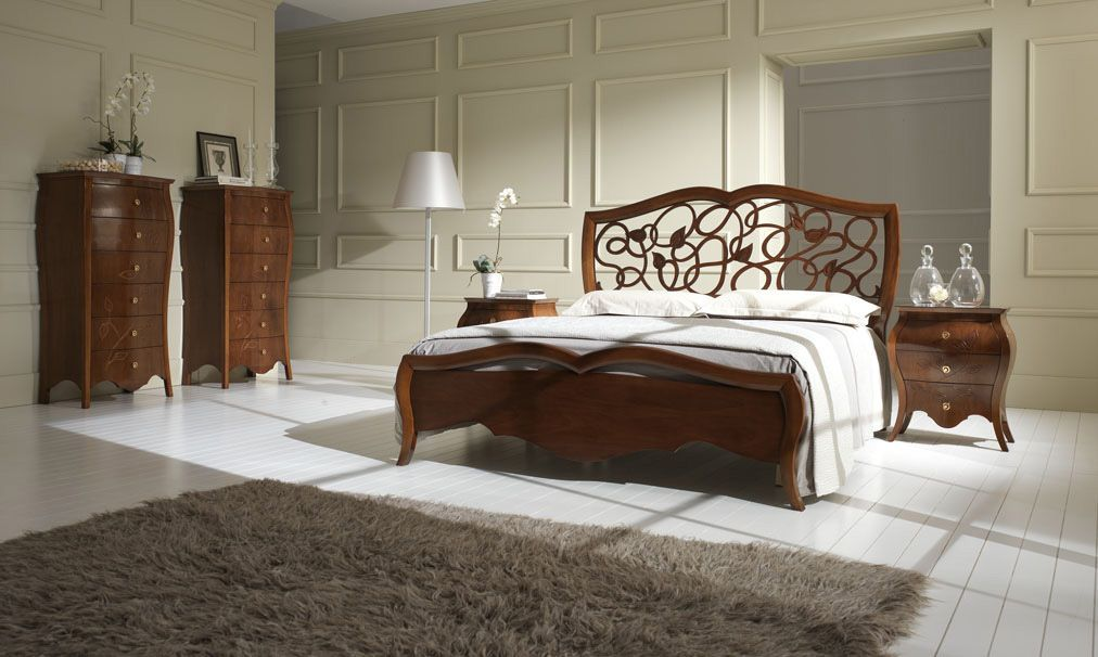 classic style double bed MY CLASSIC DREAM Stilema