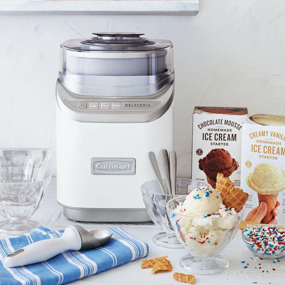Cuisinart Gelateria Ice Cream Maker Sur La Table Gourmet Ice Cream Ice Cream Maker Dessert Makers