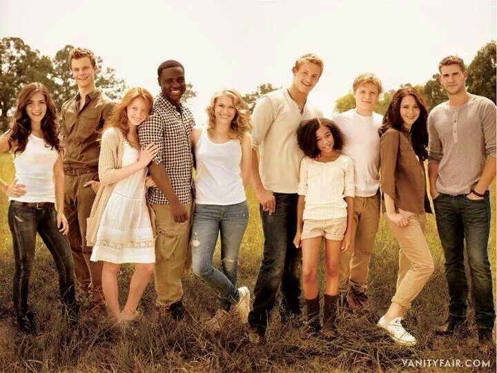 I miss the hunger games cast
