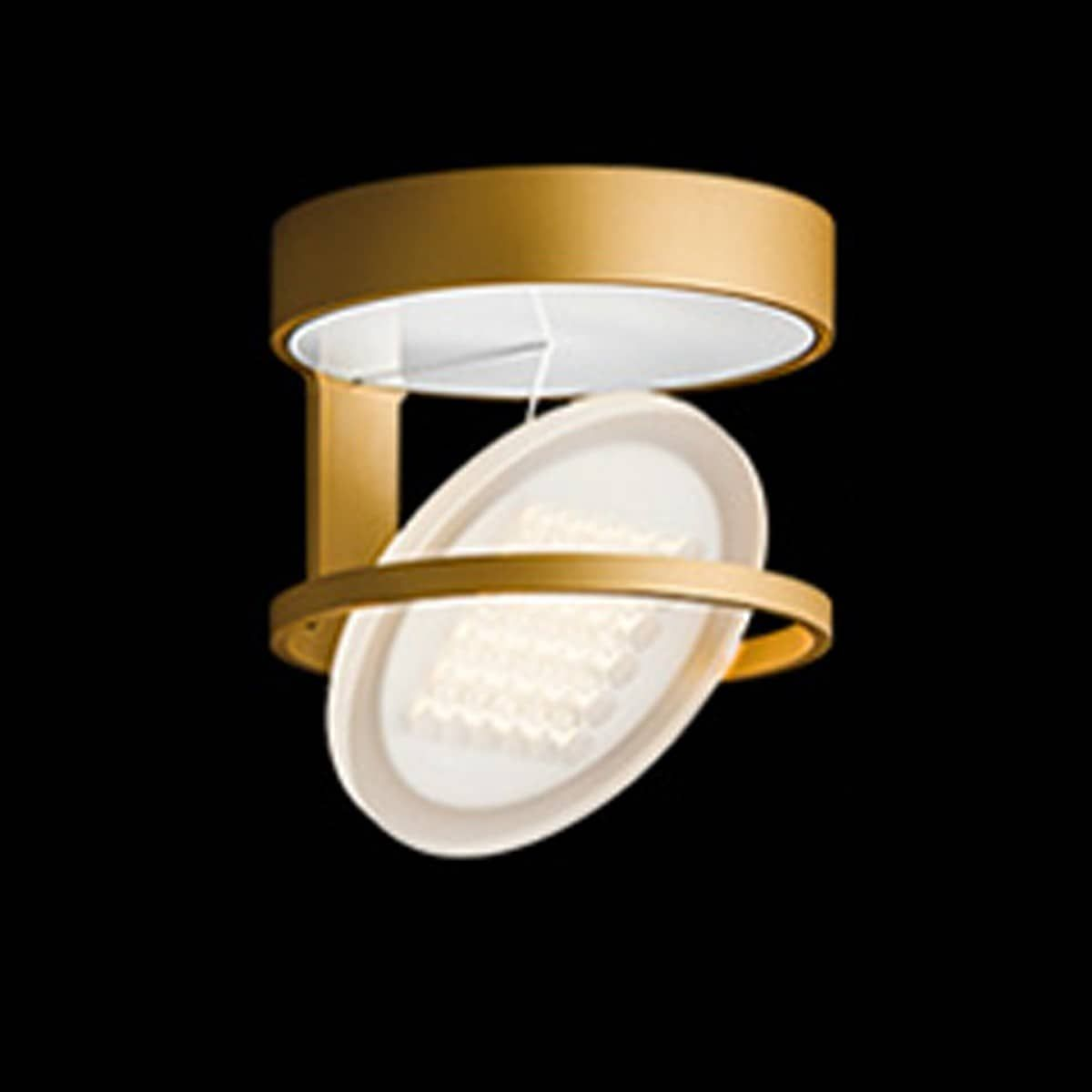 Nimbus Rim R 36 Deckenleuchte 2700 K Gold Matt Eloxiert Led Deckenleuchte Dimmbar Beleuchtung Decke Deckenleuchten