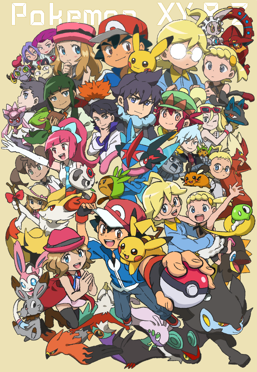Pokemon Xy Xyz Kalos Family Ash Serena Clemont And Bonnie Im Going To Miss This Gang So Much T T Pokemon Kalos Pokemon Cute Pokemon Wallpaper