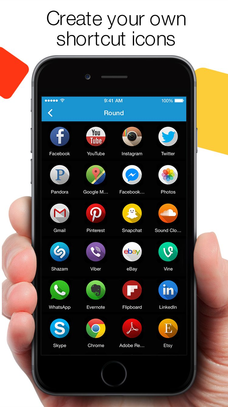 Customize your Home Screen with stylish shortcut icons