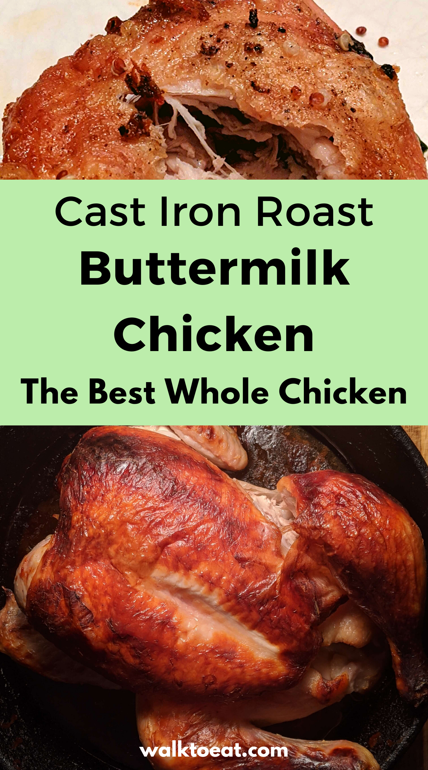Buttermilk Marinated Roast Chicken In 2020 Roast Chicken Recipes Buttermilk Chicken Best Roasted Chicken