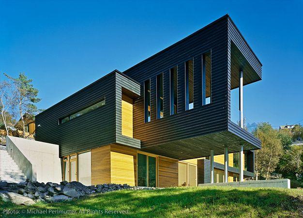 Villa Storingavika / Saunders Architecture Modern exterior, Villas
