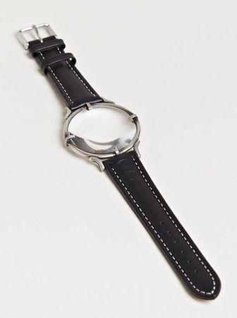 Magnifying watch bracelet...Anne Demeulemeester