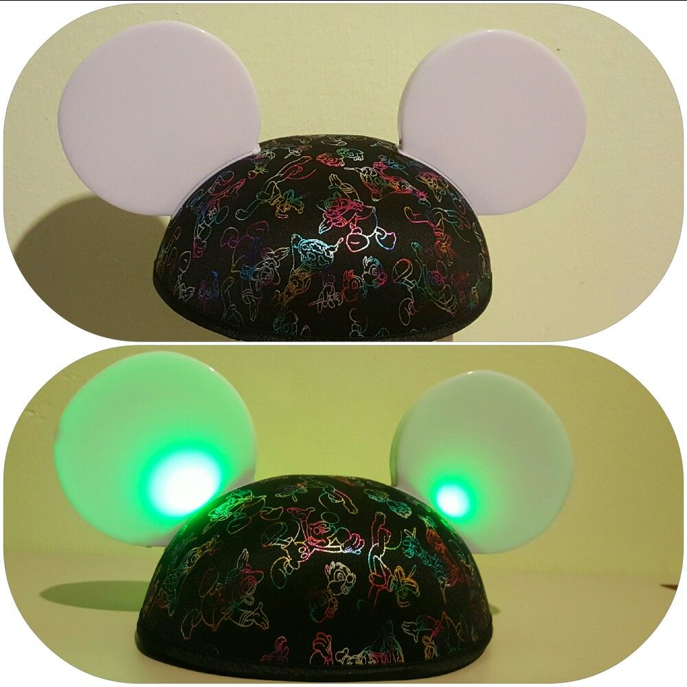 Disney mickey ears hat Friend light up  with magic
