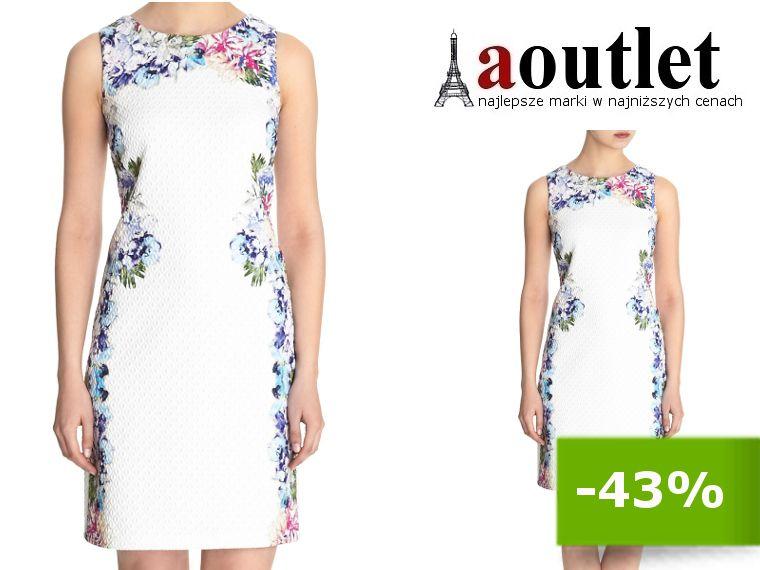 Sukienka Na Wesele Biala Kwiaty Koktajlowa 1403 42 6207538076 Oficjalne Archiwum Allegro Dresses Formal Dresses One Shoulder Formal Dress