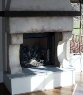 custom fireplace Ivey Custom Homes, Knoxville, TN | Mantle design ...