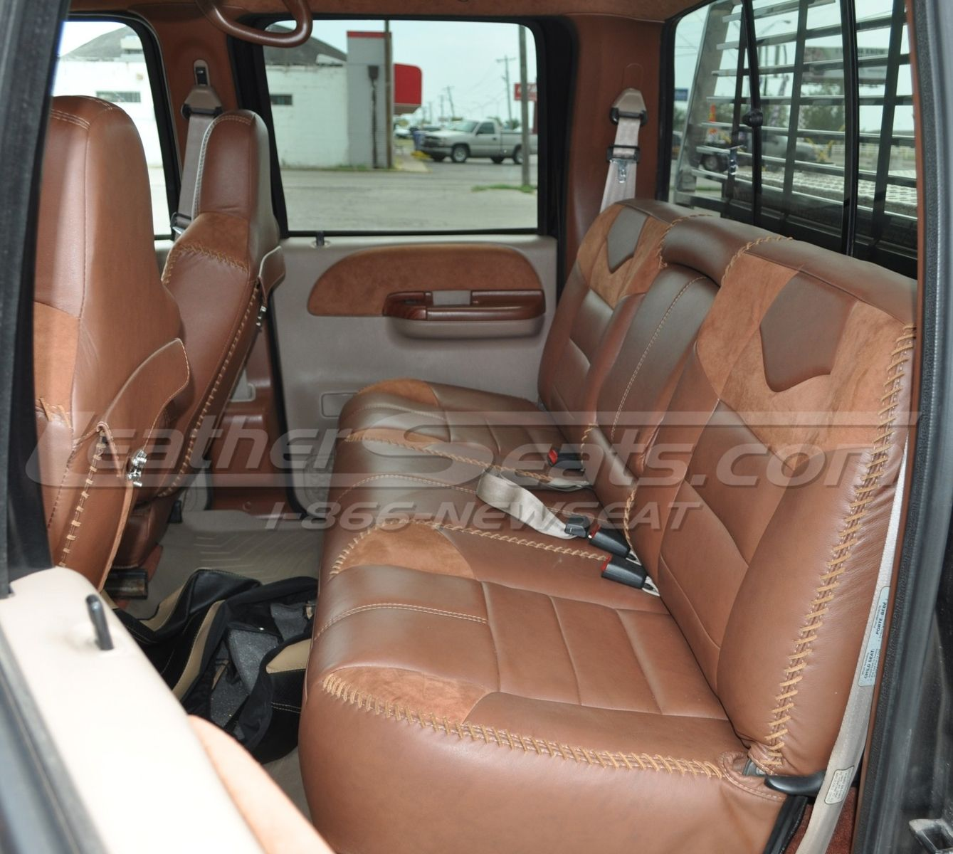 king ranch style truck interior conversion king ranch interior ford king ranch ford obs [ 1339 x 1200 Pixel ]