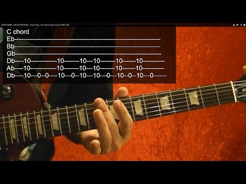 Guitar Lesson - COLLECTIVE SOUL - Shine - With Printable Tabs ...