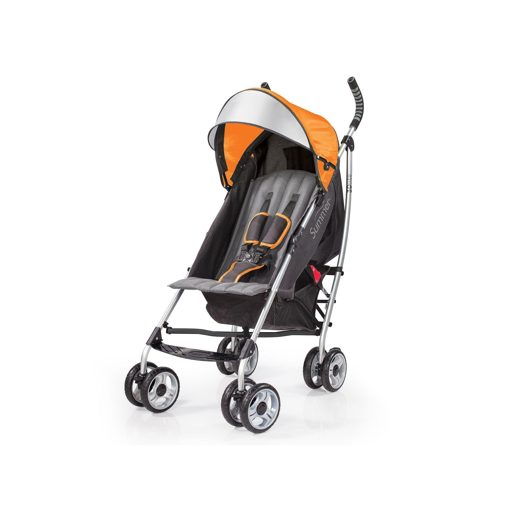 Summer Infant 3D Lite Convenience Stroller, Orange Best
