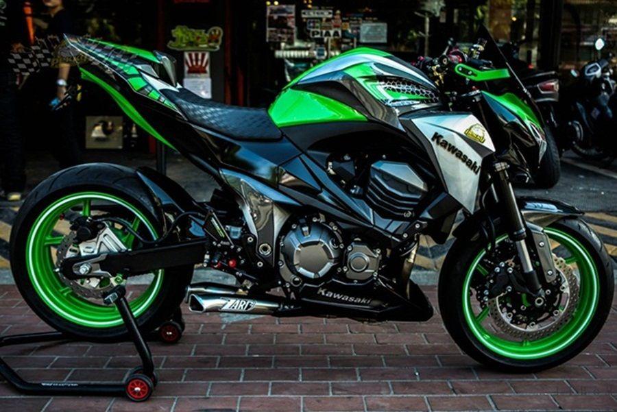 Kawasaki Z800 Design By Pekky Pro Superbike