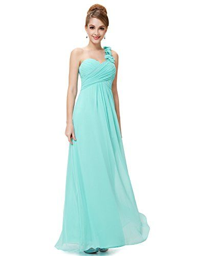 Ever Pretty Juniors One Shoulder Empire Waist Long Prom Dress 10 US ...