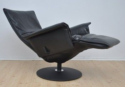 Fotel Rozkładany Relaksacyjny Design Jori Skóra Meble