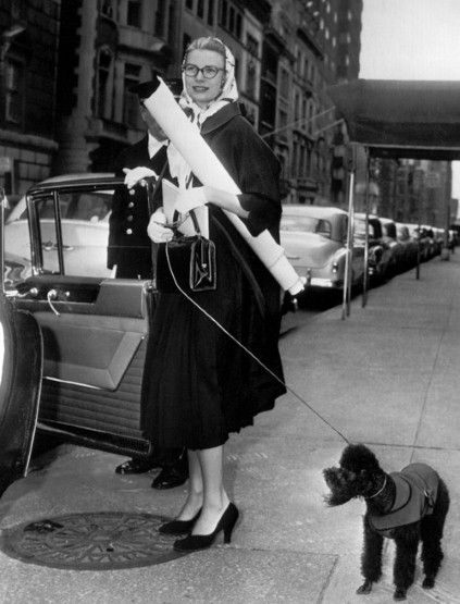 1956, Grace Kelly en Nueva York