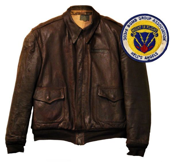 Army air corps leather flight jacket – Novelties of modern fashion ...