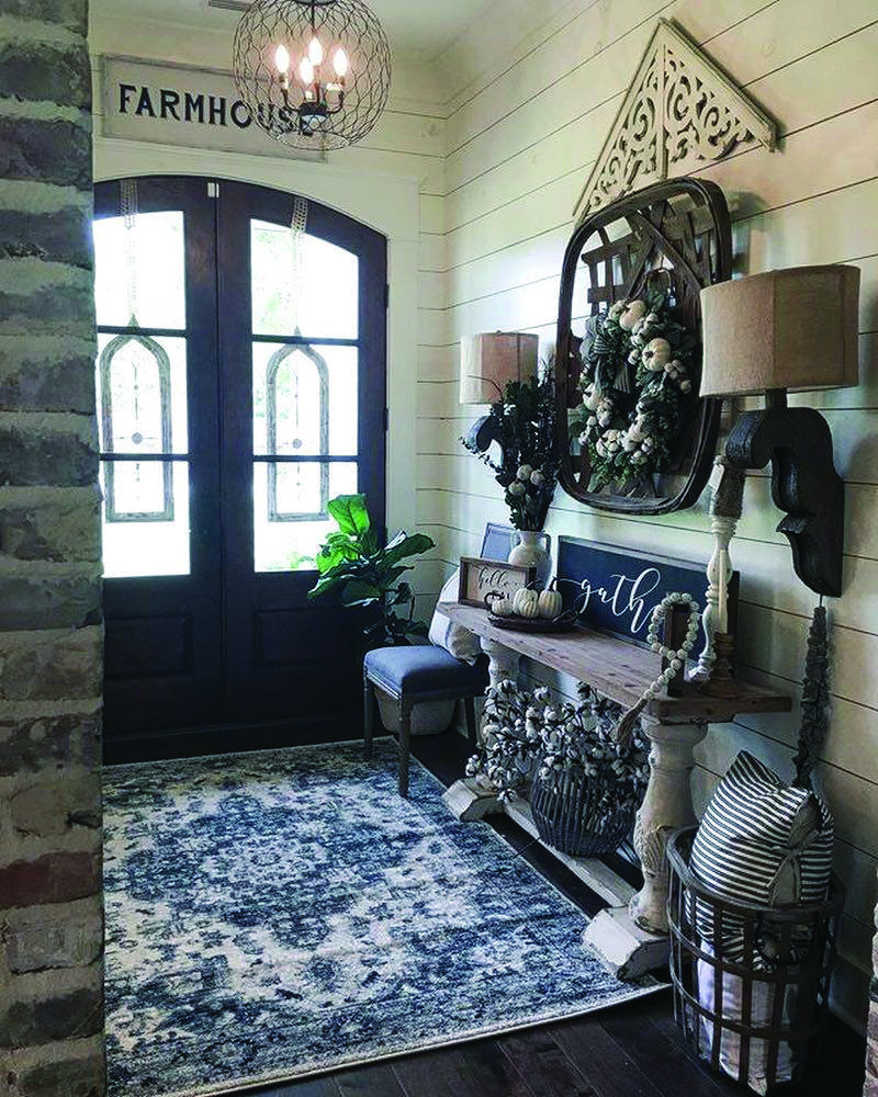 16 Enticing Wall Decorating Ideas For Your Living Room: Farmhouse Chic Design Concepts You'll LIKE For Your