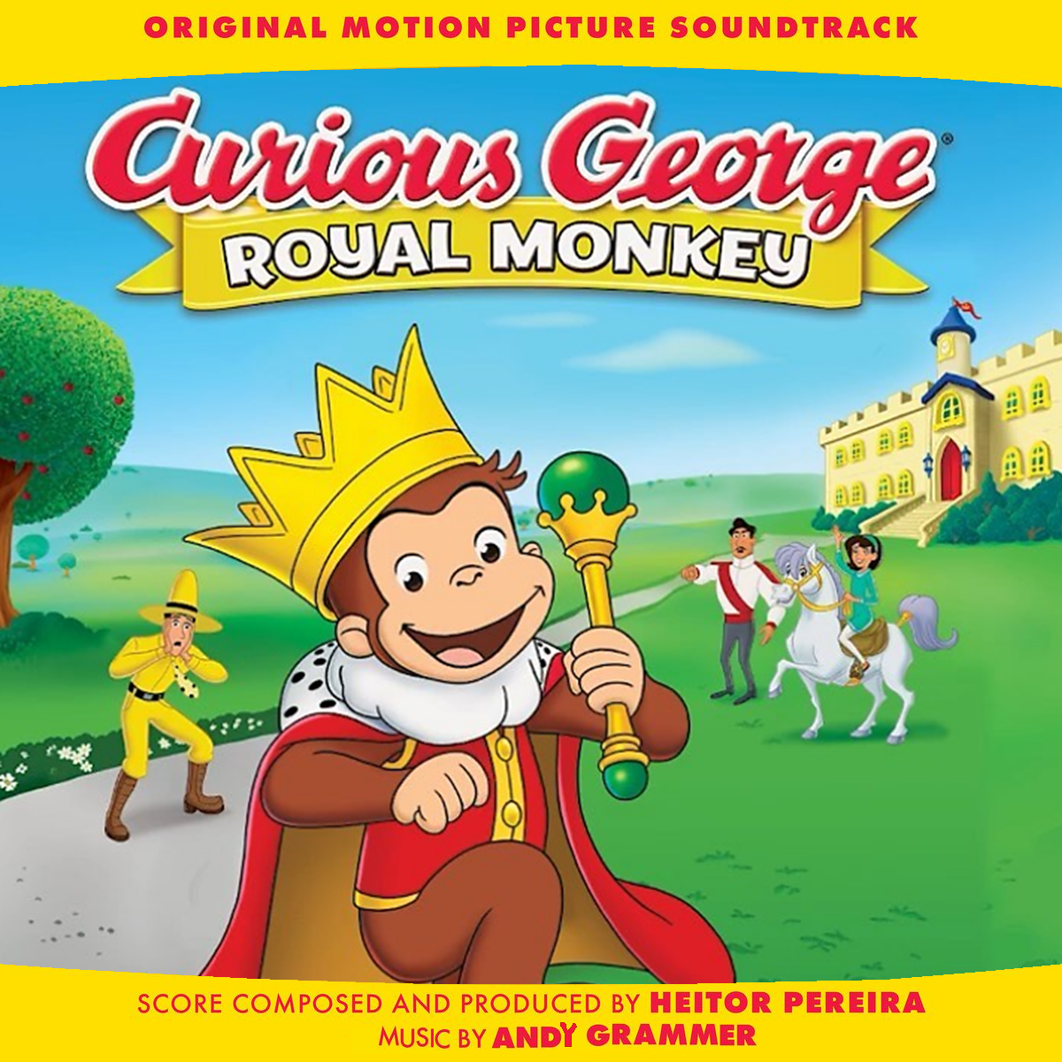 Curious George Royal Monkey Custom Made Soundtrack Cover