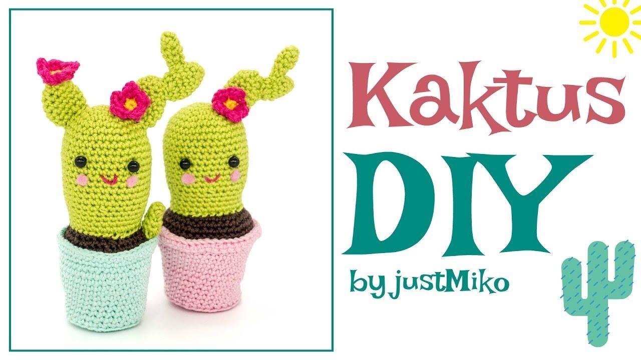 Kaktus häkeln *Do it Yourself* Amigurumi | Zuschauerwunsch ...