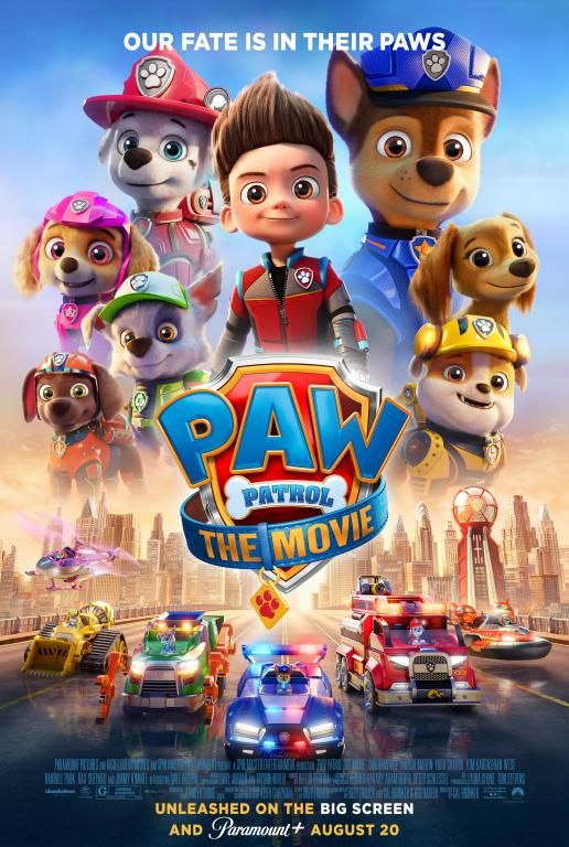PAW Patrol: The Movie Available on Digital!