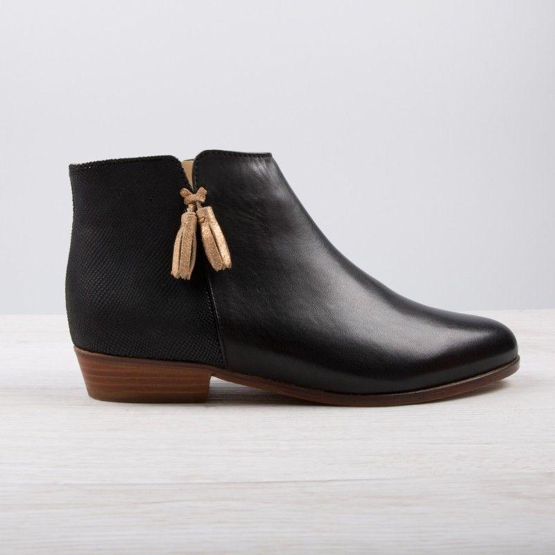 756d387d46f Boots plates femme - Chaussure - lescahiersdalter