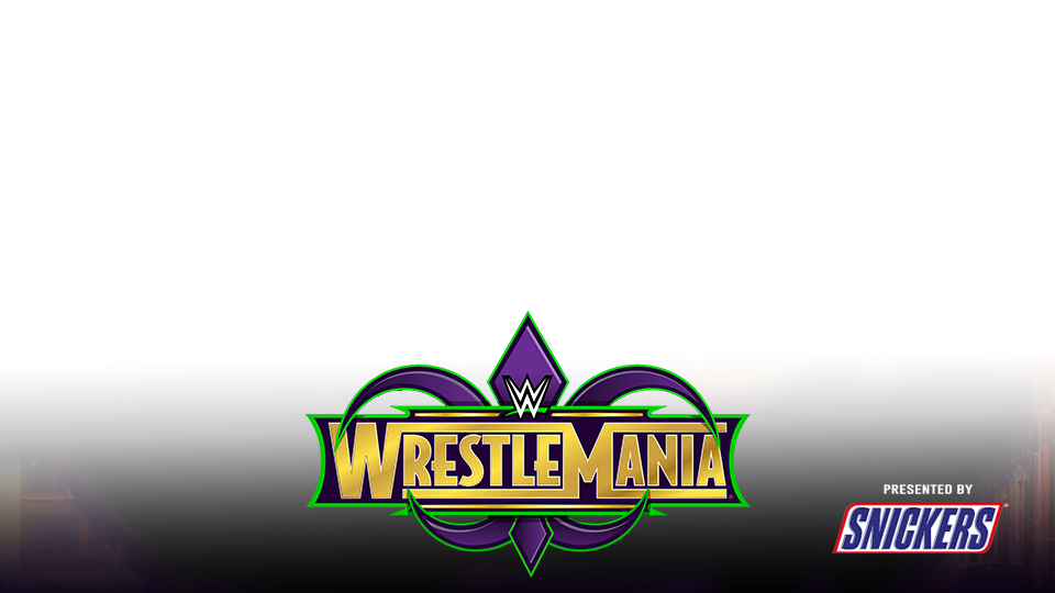 Wwe Wrestlemania 34 Preview Nameplate Remake 2018 By Jika Png Wwe Wrestlemania 34 Wwe Wrestlemania