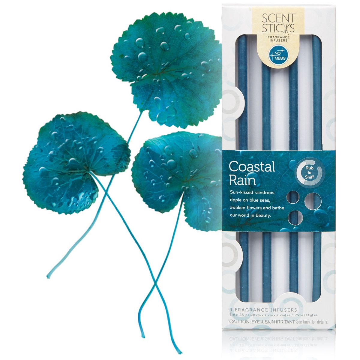 Each Pack Contains 4 Coastal Rain ScentSticks Fragrance Infusers, The Ideal  Pack Size For Refreshing A Bedroom Or Bathroom. Try The 4 Packs In Multiple  ...
