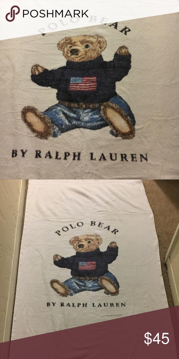 Polo Bear Ralph Lauren Beach Towel This Is A Very Cool