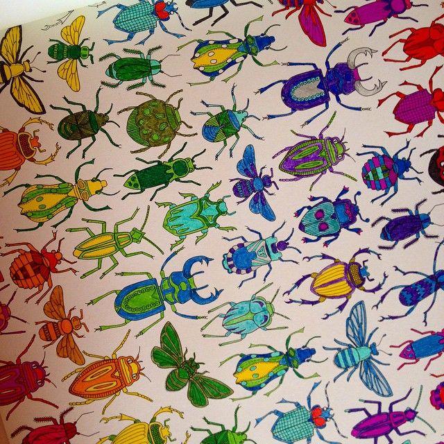 A Bugs Life Johannabasford Secretgarden Colourin Coloring BooksAdult