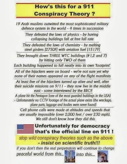 9 11 conspiracy theories essay
