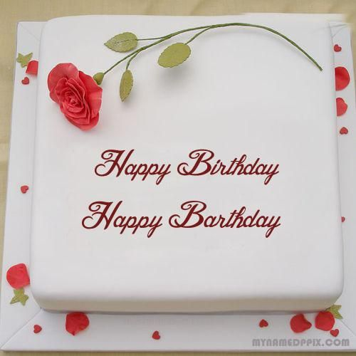 Write Lover Name Rose Birthday Cake Dp Birthday Wishes For Lover