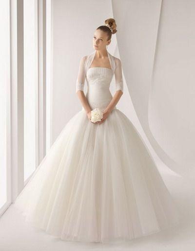 vestidos de novia / rosa clará / acanto -- // la casa blanca