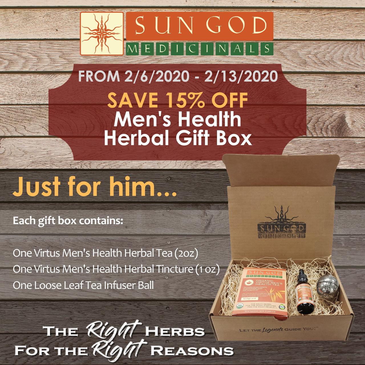 Men's Health Gift Box in 2020 Health gifts, Herbalism