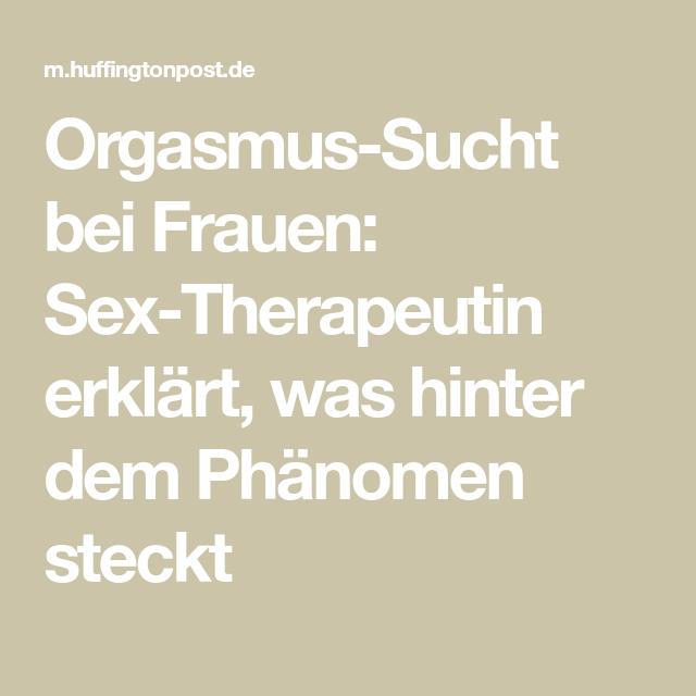 Frauen Orgasmus erklärt