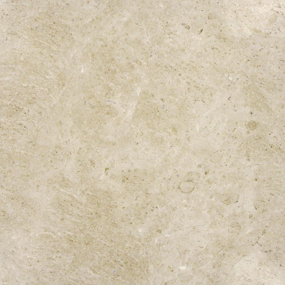 MS International 18 in. x 18 in. Sandune Beige Marble Floor and Wall ...
