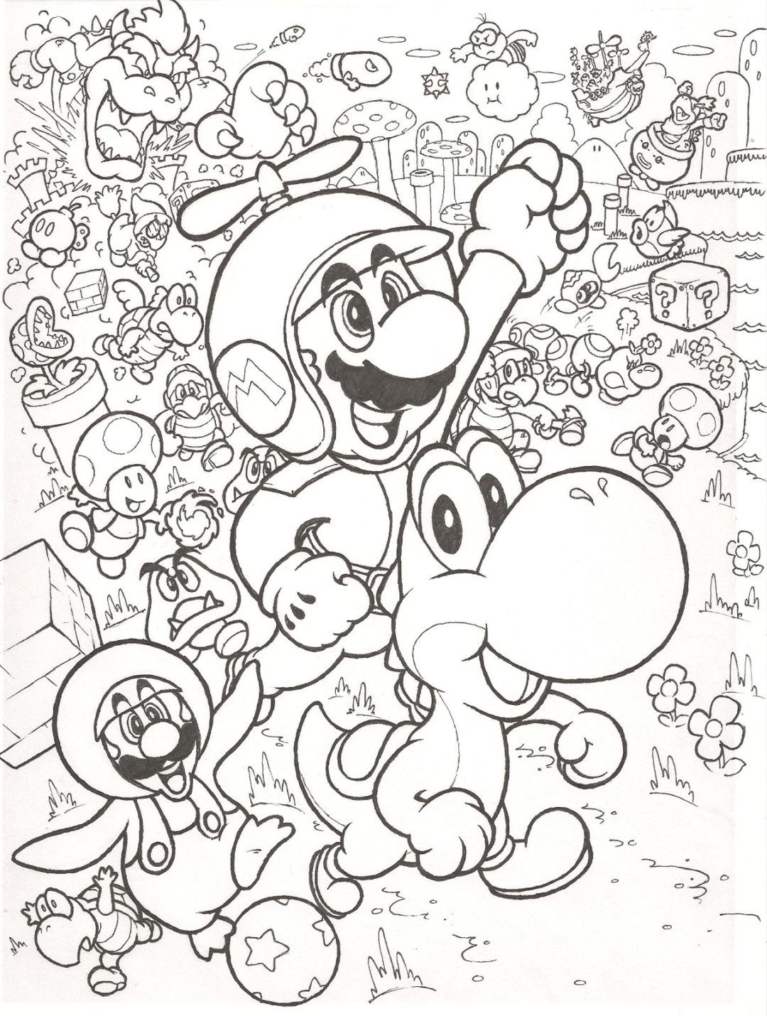 Coloring Rocks Super Mario Coloring Pages Mario Coloring Pages Pokemon Coloring Pages