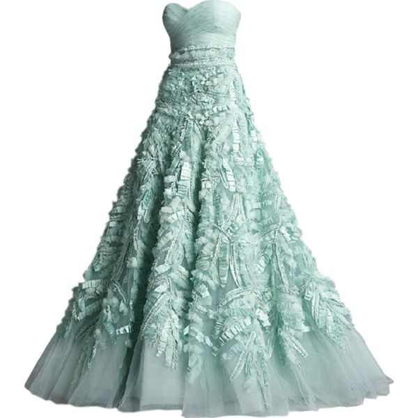 Zuhair Murad - edited by Satinee found on Polyvore