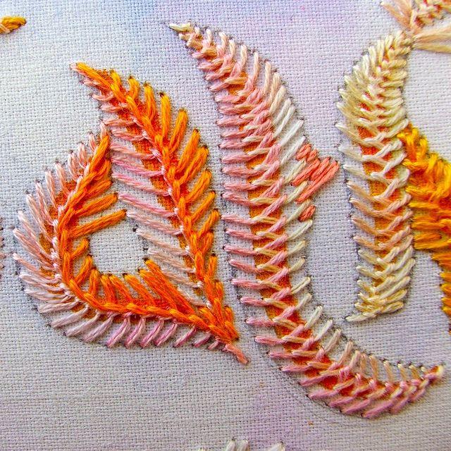 Feather stitch(TAST)