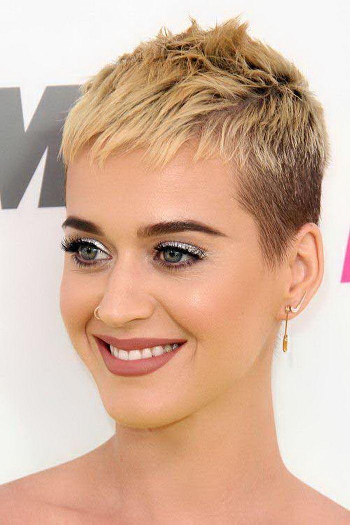 Kurzer Haarschnitt Katy Perry Pixie Pixies Pinterest Cabello