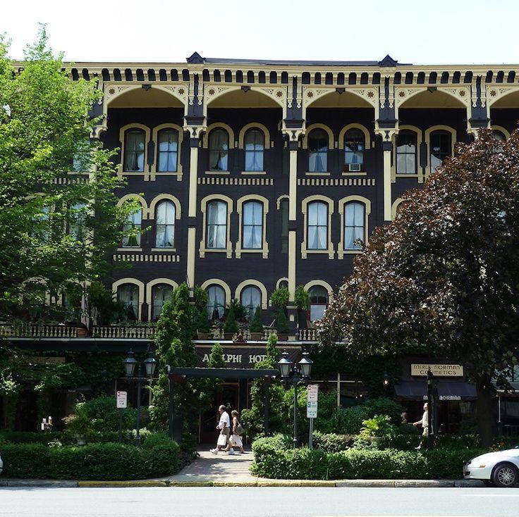 The Adelphi Hotel Saratoga Springs Ny