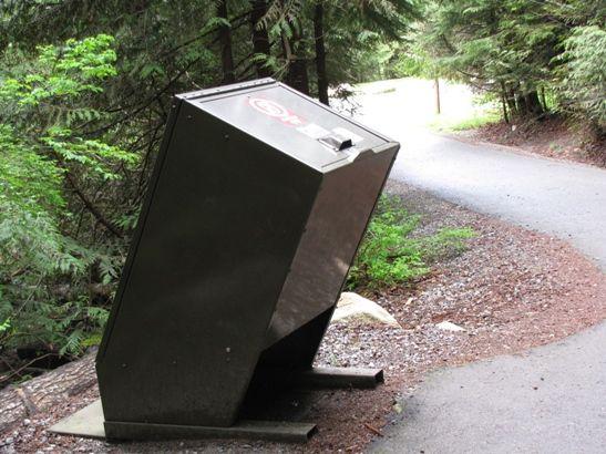 Canadian Bear Proof Garbage Bins | Garbage can storage | Garbage