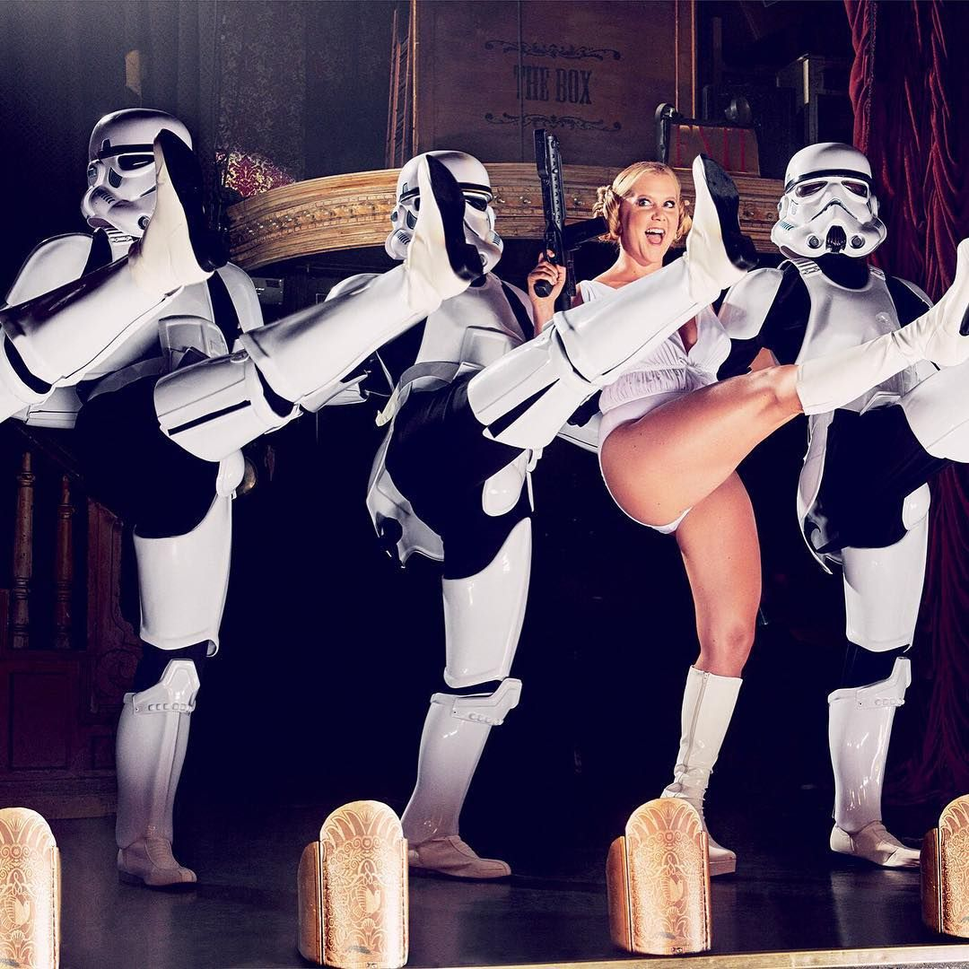 Filtro VIP | Amy Schumer faz piada de Star Wars e enfurece os donos da franquia