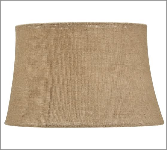 Burlap Upholstered Tapered Lamp Shade Rolled Edge Extra Large Lamp Shades Floor Lamp Base