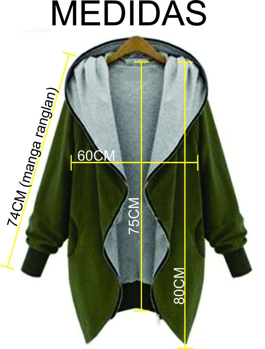 Campera oversize hoodie xl canguro abrigo mujer único moda capas