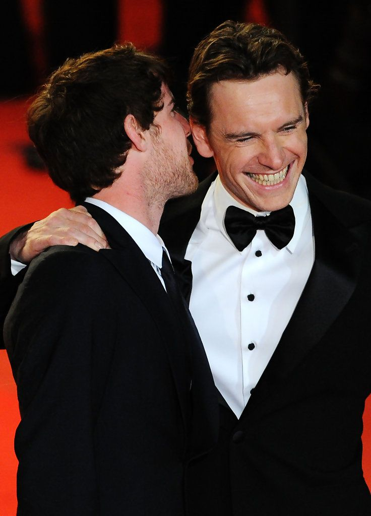 Harry Treadaway and Michael Fassbender - 2009 Cannes Film Festival