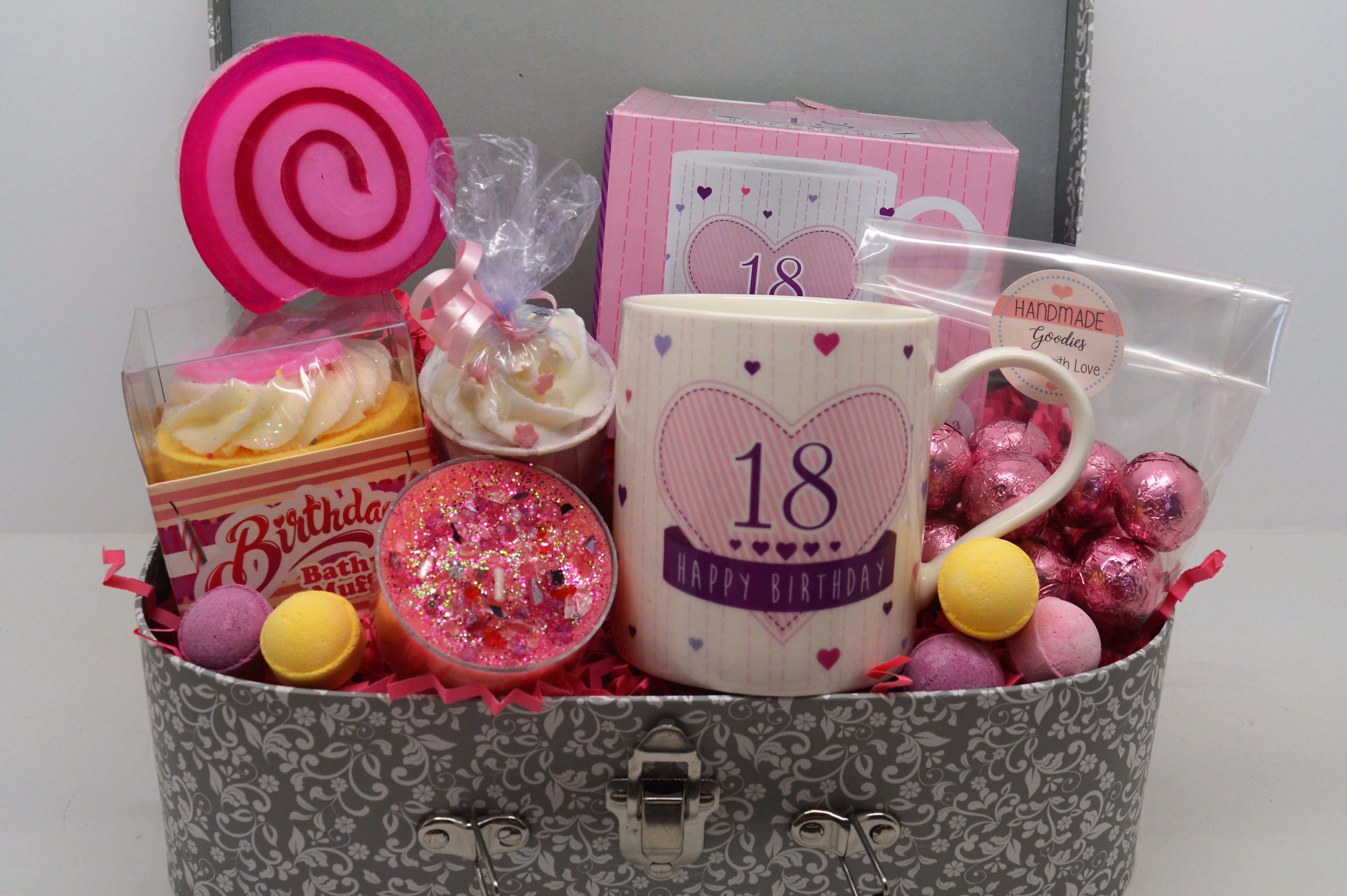 Pin By Alyssa Lewis On Luxury Gift Boxes Gift Hampers 18th Birthday Gifts Luxury Gift Box