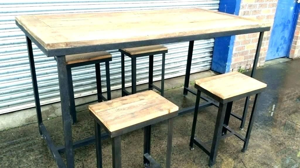 Gorgeous Rustic Pub Height Table Arts Ideas Rustic Pub Height